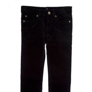 7 For All Mankind Roxanne Black Skinny Jeans Cords